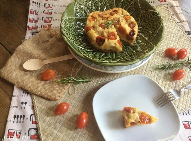 pastel-al-horno-con-tomates-cherry