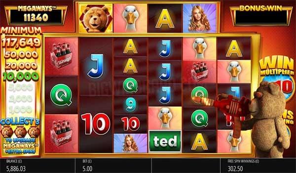 Main Gratis Slot Indonesia - Ted Megaways (Blueprint Gaming)