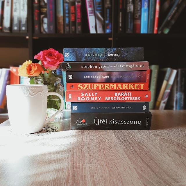 2020. februári beszerzések a teklakonyvei.hu könyves blogon, februári book haul