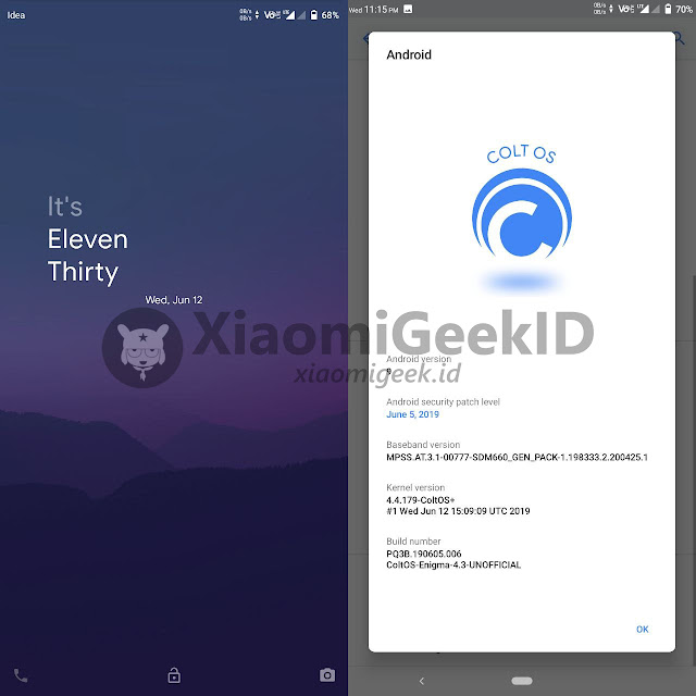 Custom ROM [UNOFFICIAL] COLT OS for Whyred