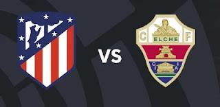 Resultado Atletico vs Elche liga 22-8-21