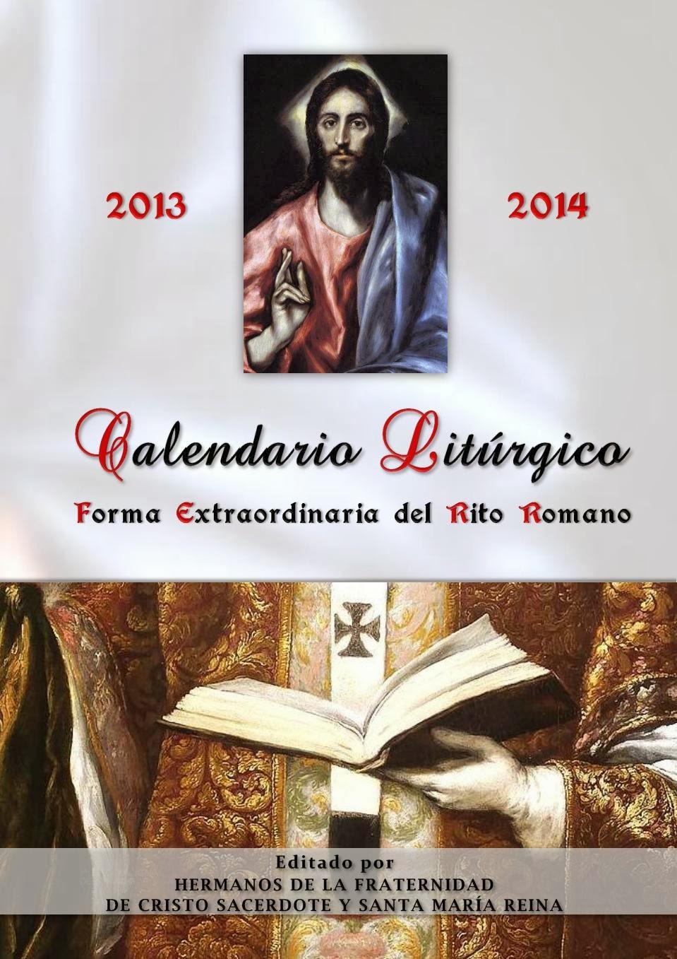 Liturgico 2014 Ano 2013 Calendario