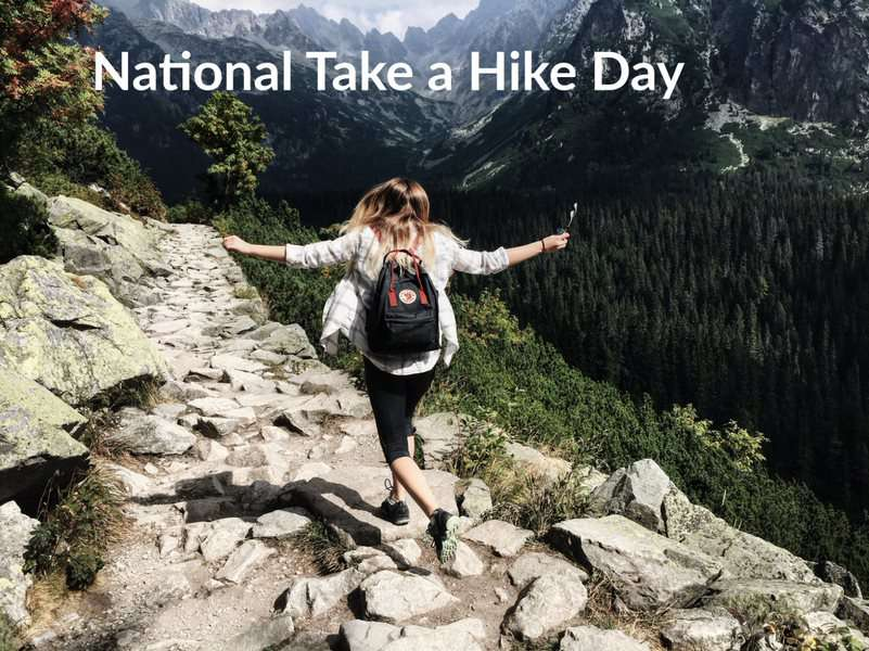 National Take a Hike Day Wishes Awesome Images, Pictures, Photos, Wallpapers