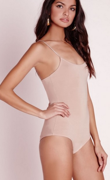 007e64ec96 Only Hearts second skin low back thong bodysuit  55 click here. MissGuided  thin strap jersy bodysuit in nude  20.40 click here