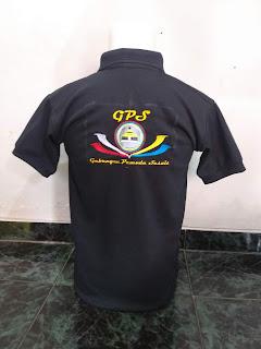 Contoh Kaos Polo Shirt Bordir sudah Jadi