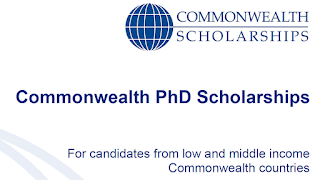 Commonwealth PhD Scholarships 2021/2022 | Doctoral Study in UK