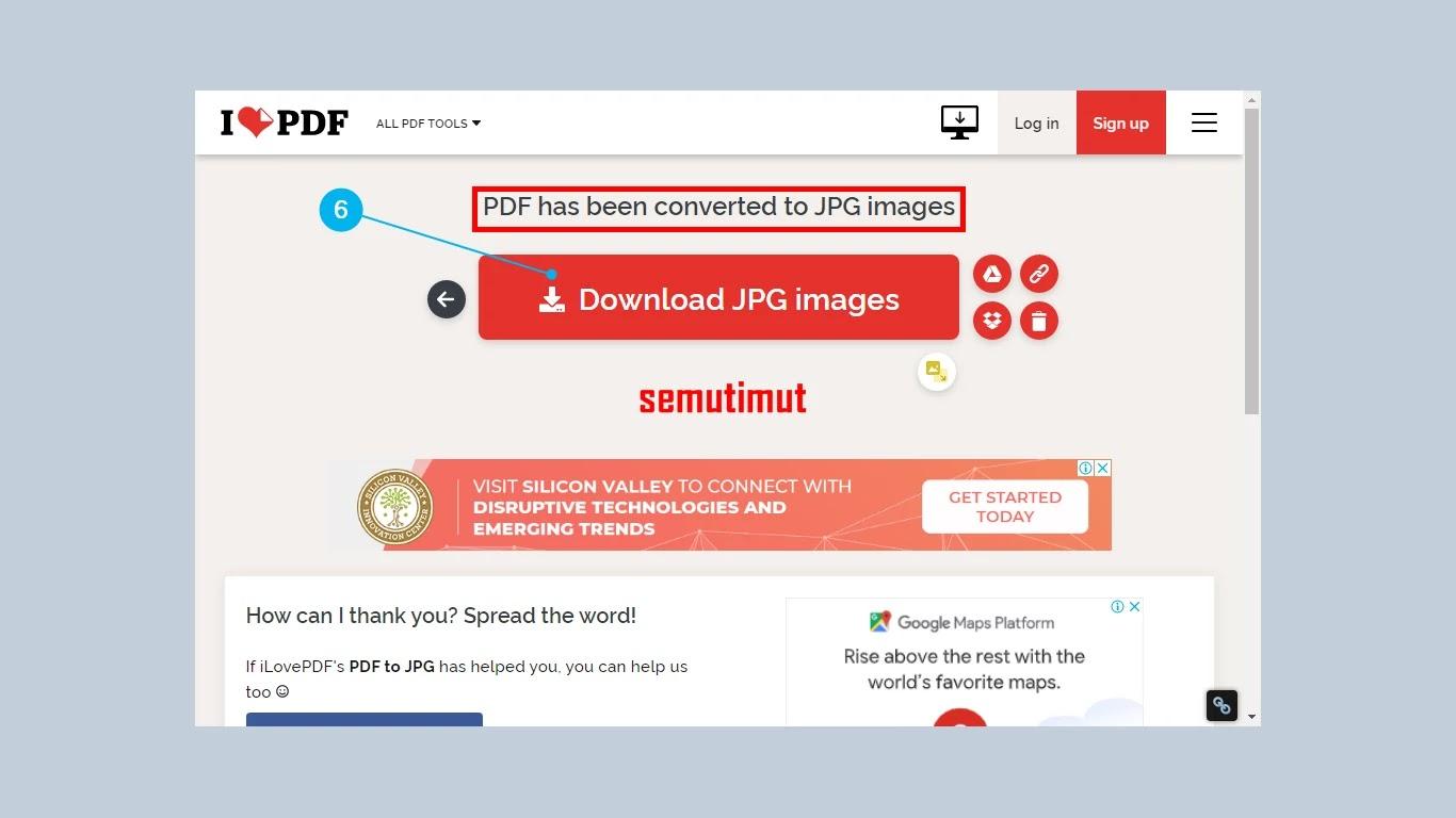 Cara Mengubah File Pdf Ke Jpg Online Dan Offline Di Hp Pc Semutimut Tutorial Hp Dan Komputer Terbaik