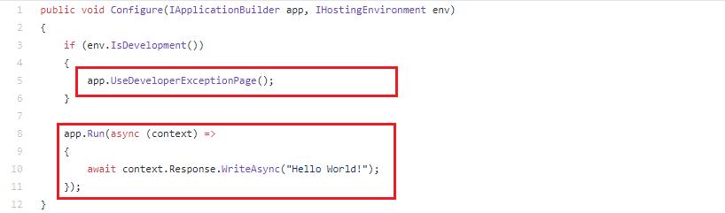 Middleware in ASP .NET Core