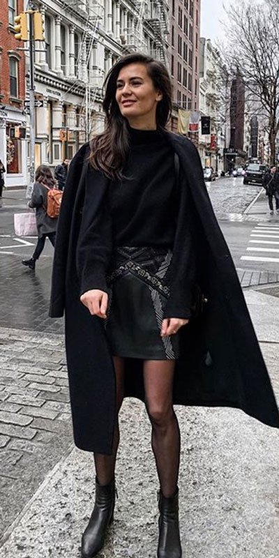 23 Stylish Fall Fashion Ideas for Women Over 30. We've taken the liberty of compiling a list of fall outfit ideas for women over 30. Fall Style via higiggle.com | black coat + jumper | #fashion #falloutfits #style #coat
