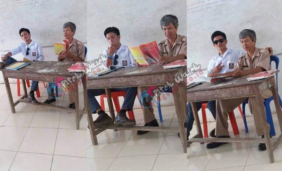 Foto Foto Ilham, Siswa SMA Toddopuli 6 Yang Tak Punya Sopan Santun