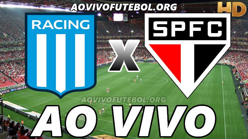 Racing Club x São Paulo Ao Vivo Hoje em HD