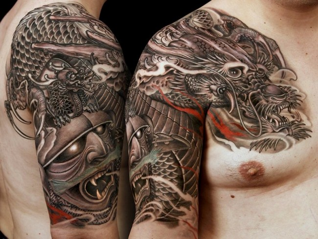 traditional japanese tattoo art meanings kanjenk tattoo. Black Bedroom Furniture Sets. Home Design Ideas