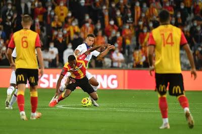 هدف فوز لانس علي باريس سان جيرمان (1-0) الدوري الفرنسي