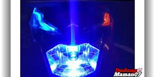 Tampilan Modifikasi Lampu Motor Beat