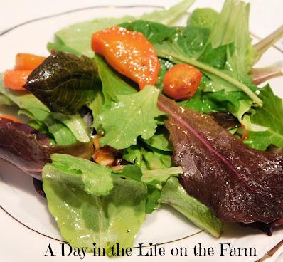 Honey Roasted Carrot Salad