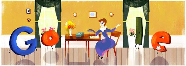 Kamma Rahbek's 241st birthday - Google Doodle