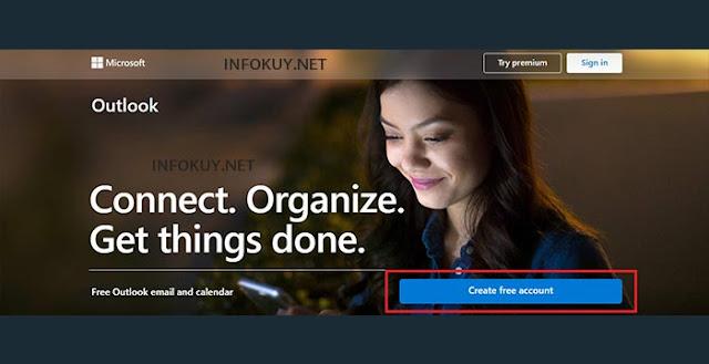 Cara Membuat Email Outlook atau Hotmail di PC #1