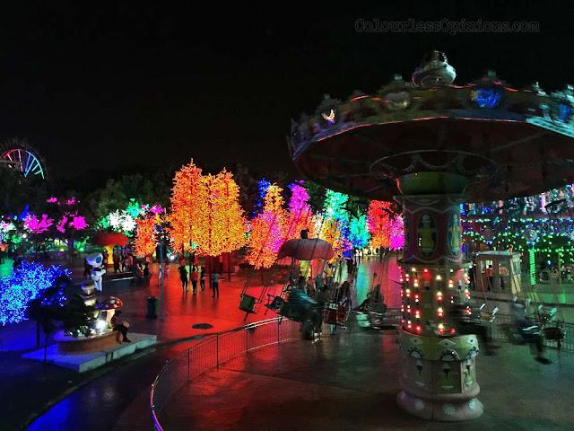 i city of digital lights led lights marry go round