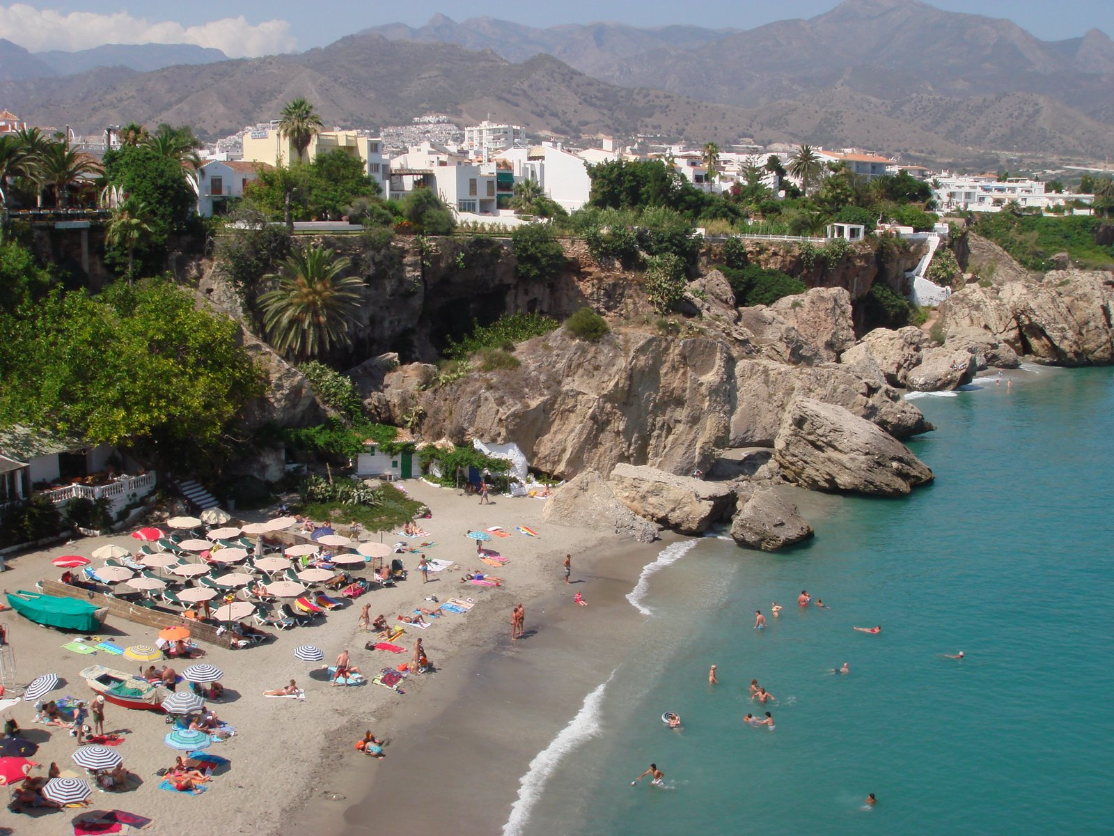 best beaches in costa del sol spain