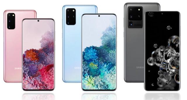 ألوان Samsung S20: أفضل ألوان جلاكسى إس 20 بلس و اس 20 الترا