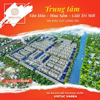 khu đô thị Việt Úc Varea Bến Lức