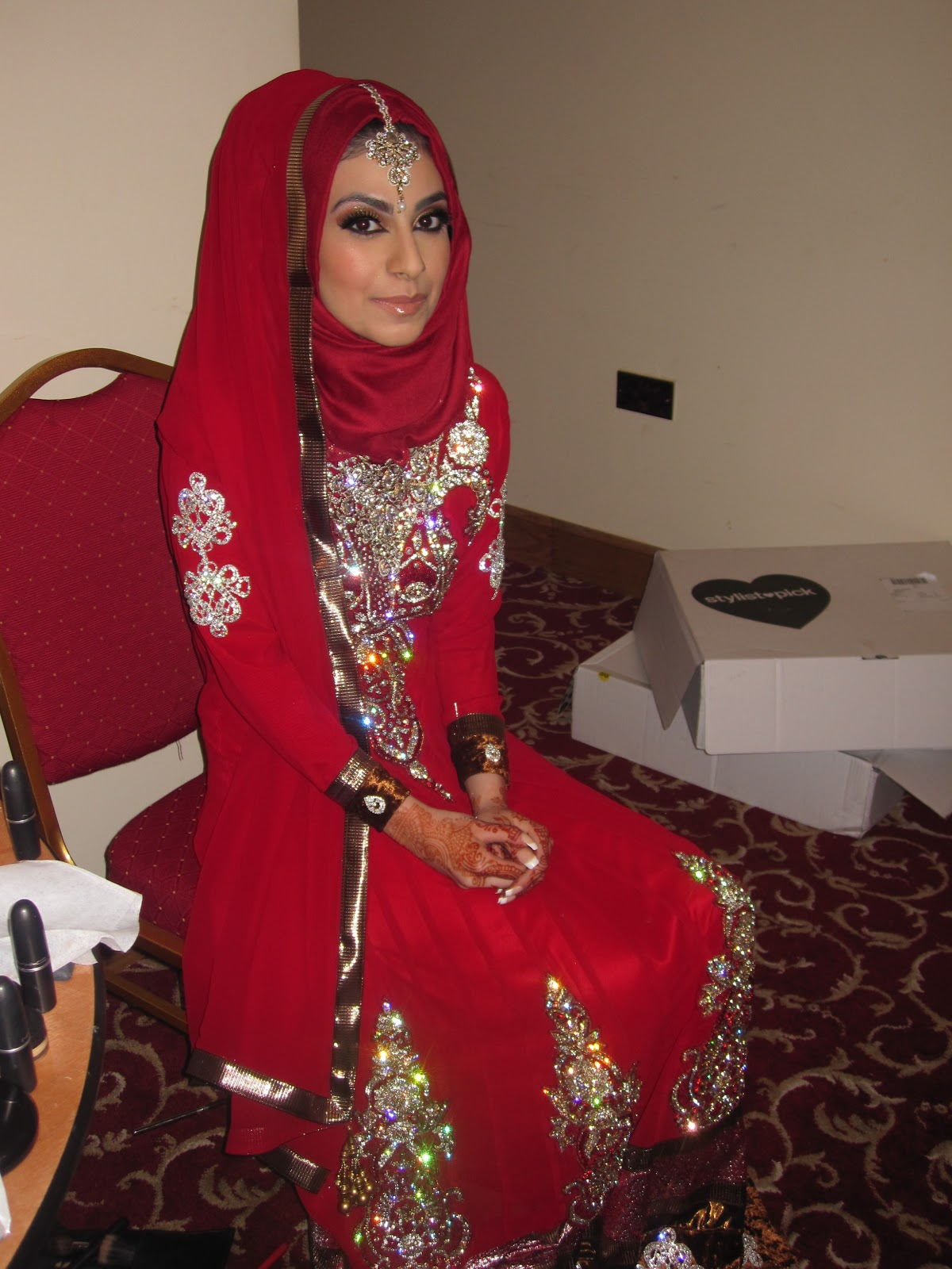 Beauty And The Blog Arabic Desi Bridal Makeup