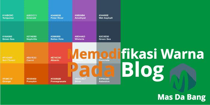 Cara Memodifikasi Warna Link Pada Blog