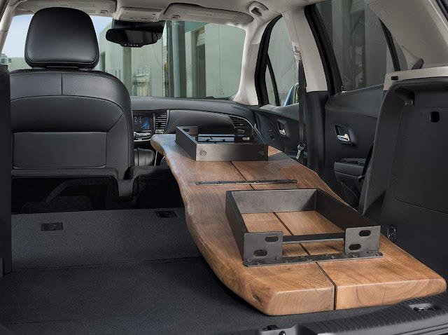Novo Chevrolet Tracker 2017 - porta-malas