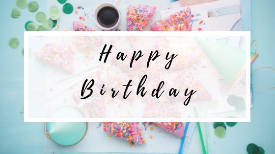 Happy birthday, dear blog! A retrospect to the last 6 years of blogging.
