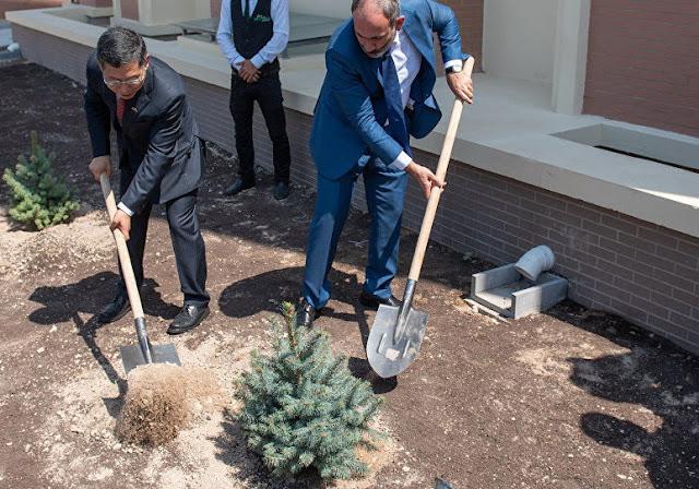 plantar 10 millones de árboles en Armenia