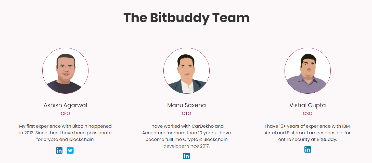 Team Behind BitBuddy