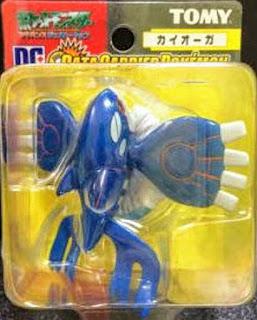 Kyogre Tomy Data Carrier Pokemon Figure