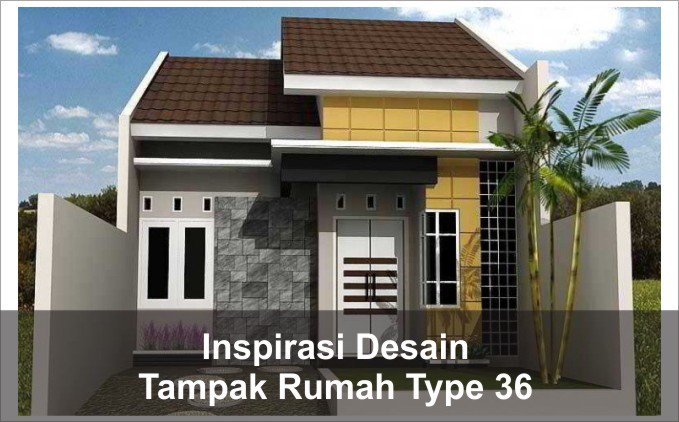 Tampak Rumah type 36