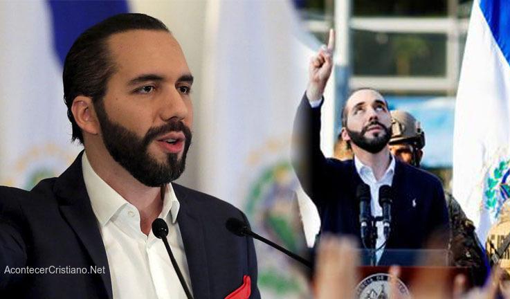 Nayib Bukele pide oración por El Salvador