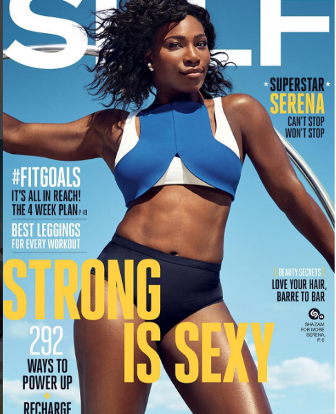 serena williams self magazine
