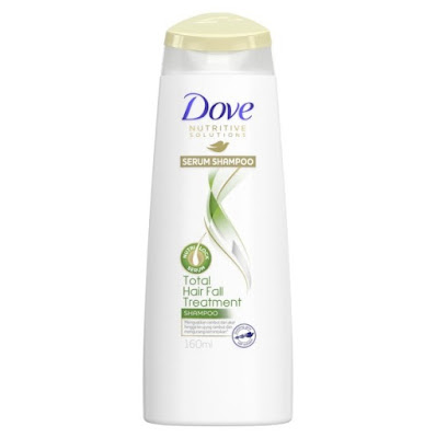 Dove Total Hair Fall Treatment Serum Shampoo Produk Perawatan Rambut Rontok - Zarlinda Review