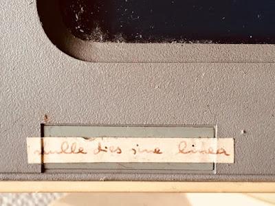 """PC-Monitor von 1987: """"Nulle dies sine linea"""""""