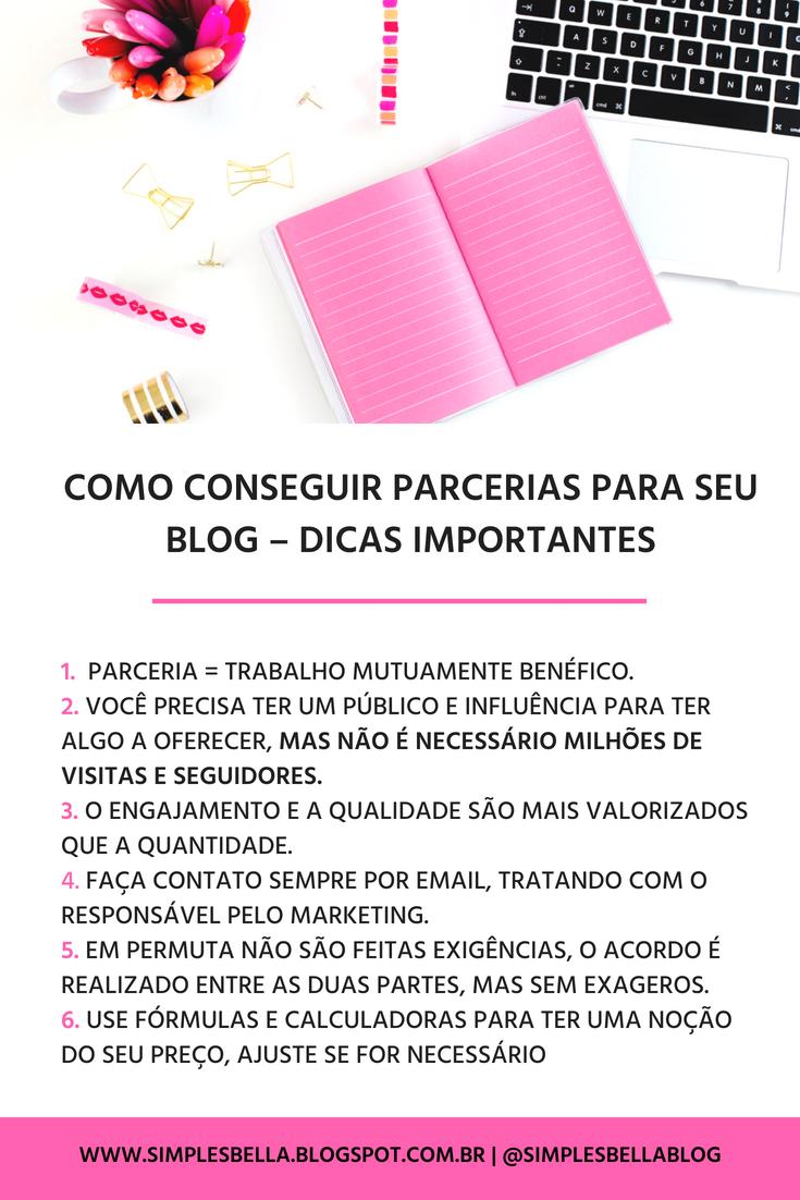 Como conseguir parcerias para seu blog