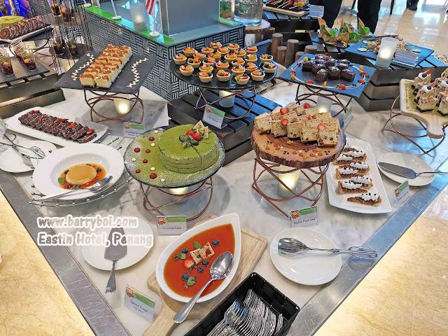 Desserts Cakes Salmon Buffet Penang Buffet Eastin Hotel Penang Penang Malaysia Blogger Influencer Penang Food