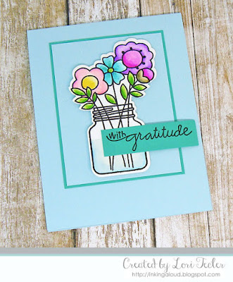 With Gratitude card-designed by Lori Tecler/Inking Aloud-stamps and dies from Inking Aloud