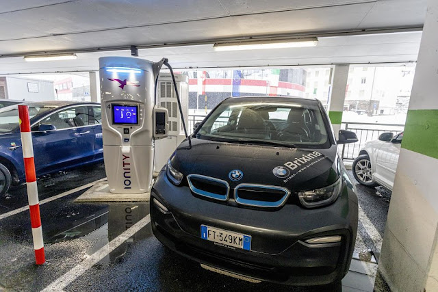 Image Attribute: IONITY will expand its Italian network with a High-Power Charging station in Brenner