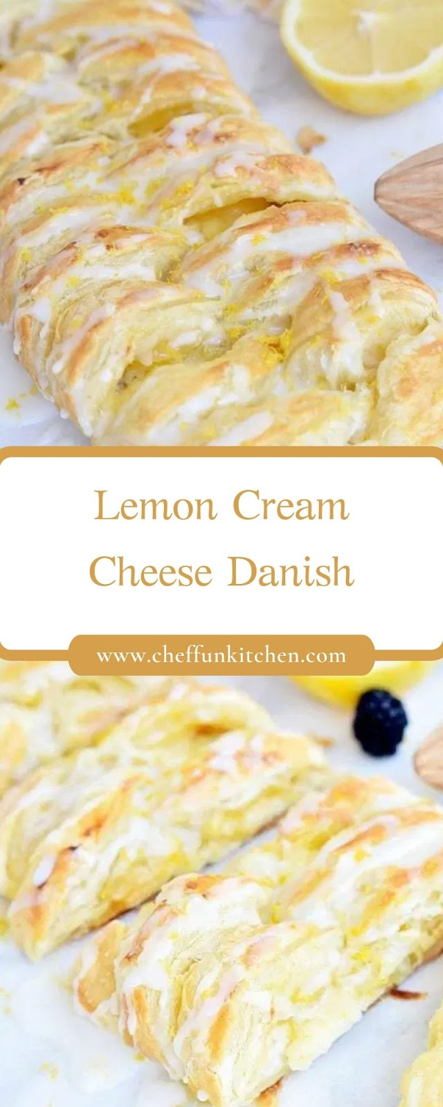 Lemon Cream Cheese Danish