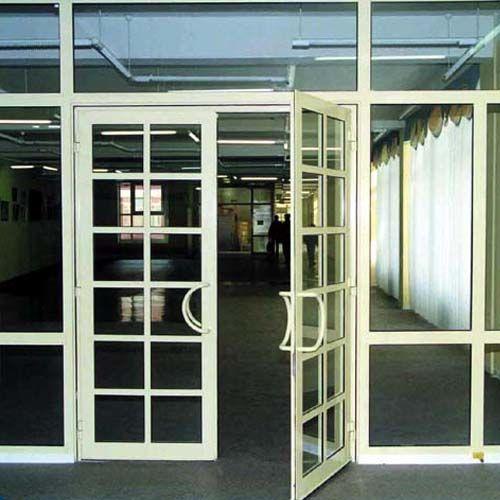cửa nhôm kính đẹp - mẫu thiết kế số 15