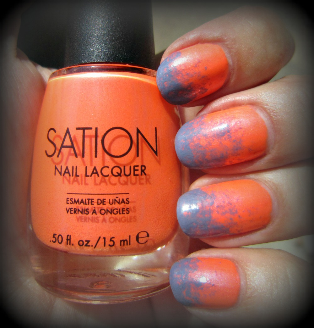Concrete And Nail Polish Sation Show Off Your Navel Orange Amp A Gradient