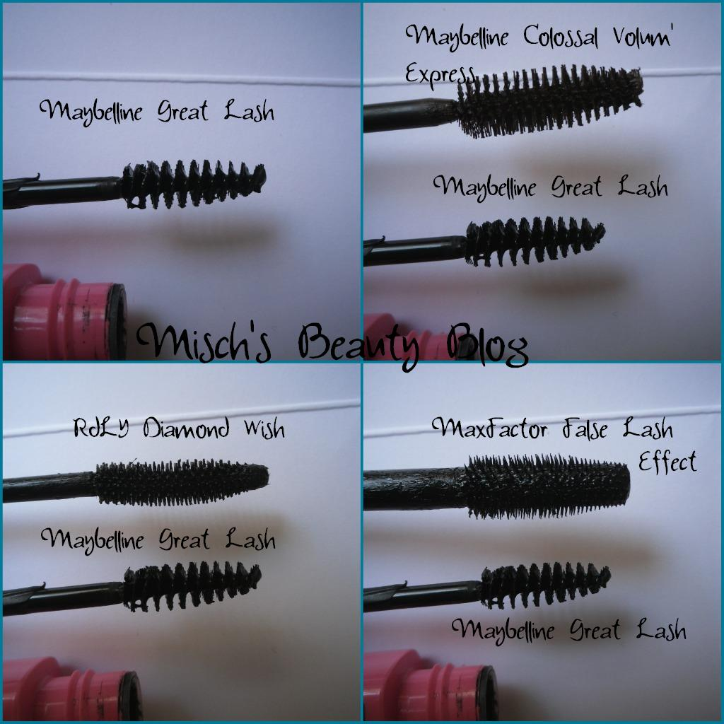 Misch's Beauty Blog: Review: Maybelline Great Lash Mascara