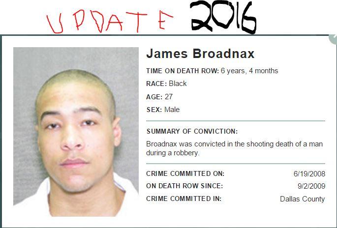 James broadnax sentence