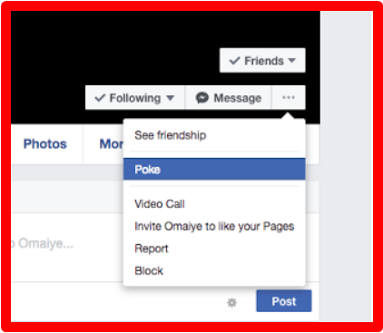 How to See Your Pokes on Facebook 2017