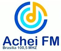 Rádio Achei FM 100,5 de Brasília DF