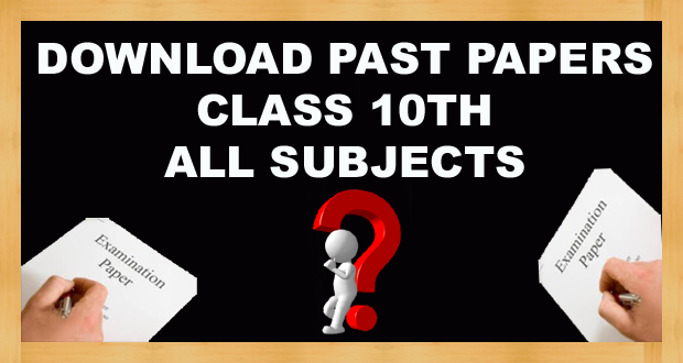 Class 10th Old Papers FBISE (Federal Board) Islamabad