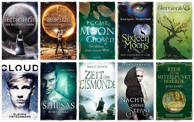 10 Bücher mit Himmelskörpern im Titel
